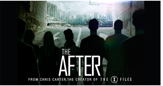 'The After' sci-fi series by Chris Carter