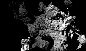 Philae comet lander 'wakes up'